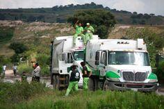 La basura de Puebla la tiran en Texmelucan