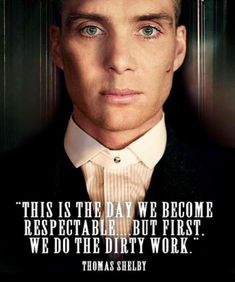 tommy shelby quote