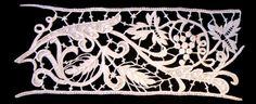 Merletti merletto ad ago Aemilia Ars cuscini porta fedi cuscini porta anelli inserti per abiti da sera e da cerimonia biancheria ricamata