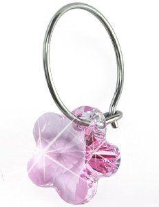 Nickel Free Swarovski Flower Dangle, Light Rose . $35.00. Medical Grade Titanium Ear Wire. Nickel Free Earrings. Comfort Guaranteed!