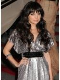 Gorgeous Black Long Wavy 26 inch With Bangs Nicole Richie Wigs Long Layers With Bangs, Layered Hair With Bangs, Long Hair With Bangs, Fancy Hairstyles, Latest Hairstyles, Hairstyles With Bangs, Layered Hairstyles, Bang Bang, Nicole Richie Hair