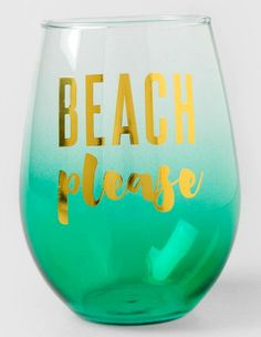 Beach please drinking glasses: http://www.completely-coastal.com/2016/05/coastal-nautical-drinking-glasses.html ... with a Splash of Gold!