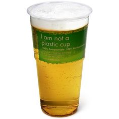 No one likes pints in plastic cups.