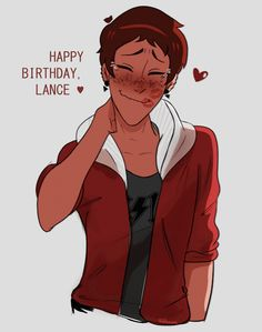 I hope that's one of Keith's favorite old hoodies that he never wears but let's Lance have just cuz he wants it.