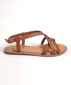 Another great find on #zulily! Chestnut Bedford Sandal #zulilyfinds