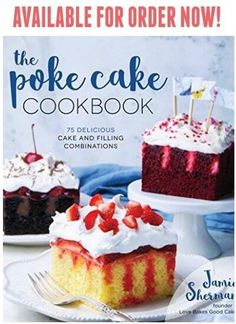 "Read ""The Poke Cake Cookbook 75 Delicious Cake and Filling Combinations"" by Jamie Sherman available from Rakuten Kobo. Easy Techniques for Cakes Bursting with Flavor Making incredible-tasting desserts with great new flavors has never been . Food Cakes, Lemon Truffles, Ricotta Cookies, Shortbread Cookies, Mantecaditos, Savoury Cake, Relleno, Clean Eating Snacks, Yummy Cakes"