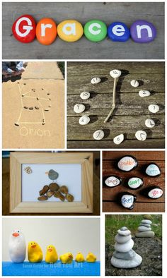 Awesome craft projects and learning activities that kids can do with rocks!