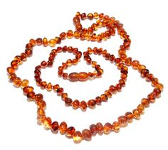 Genuine Polished Baltic Amber Beads Set Baby Teething by BLTAmber