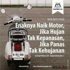 Enak naik motor