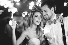 lazaro ballgown, blue groom suit, bow tie, mastin labs, romantic bride and groom, sparkler exit, Justin & Nicole, Married — Vine and Light | Central Florida | Wedding and Portrait Photography