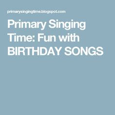 """Primary Singing Time: """"Miracle Of The Fish Singing"""" Primary Program, Primary Songs, Primary Singing Time, Lds Primary, Primary Colors, Sing To Me, Songs To Sing, Sing Sing, Musica"""