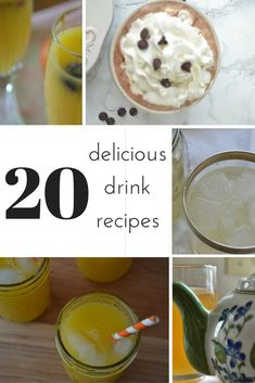 20 delicious drink recipes for every season!