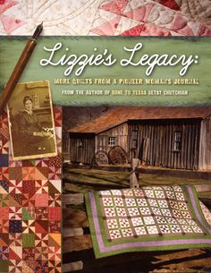 Lizzie's Legacy: More Quilts from a Pioneer Woman's Journal by Betsy Chutchian   Craft Book by breezysbooks on Etsy