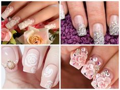 https://www.facebook.com/leovandesign  #naildesignideasforwedding #nails #nailpolish #wedding #design #manicure #pedicure