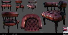 Alan's game props - Polycount Forum