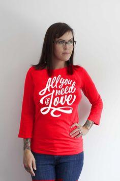 Mama FeelsGood - All You Need Is Love - Nursing top, £24.99 (http://www.mamafeelsgood.com/all-you-need-is-love-nursing-top/)