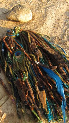 "Dread Fall ""Galactic Summit"" by CinagroFarm on Etsy, $42.50 I want this dread fall sooooo bad!!! This is one of my favorites!!"