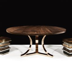 Arc Base | Hudson Furniture Co. Custom Sizes Available (no leaf option)