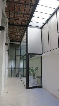 PH vista patio 2 Outdoor Bathrooms, Studio Room, Skylight, Home Interior Design, New Homes, House Design, House Styles, Ph, Brea