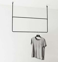 Hand-Made Minimalist Hangers - The Hand-Forged Clothes Hangers Exemplify Scandinavian Minimalism