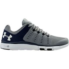 Under Armour Women's MicroG Limitless TR2 TM (6.5, Steel/Midnight Navy/White)