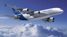 The Airbus a jumbo jet often compared to the legendary Boeing is a double decker four engine aircraft first unveile. Commercial Plane, Commercial Aircraft, Airbus A380, Boeing 747, Paris New York, Airplane Flying, International Airlines, Jumbo Jet, Planes