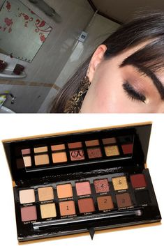 Soft Glam palette looks #stepbystep #anastasia #abh #simple #tutorial #natural #Browneyes