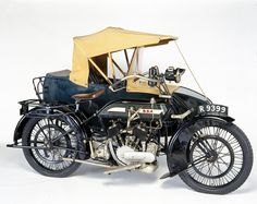 Beautiful BSA Motorcycle Sidecar - Antique Motorcycles