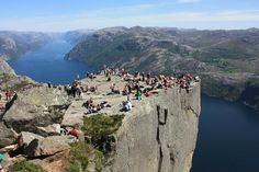 Gypsy Living Traveling In Style| Serafini Amelia| Pulpit Rock:Ryfylke, Norway