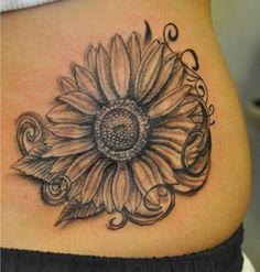 sunflower tattoo - 45 Inspirational Sunflower Tattoos | Showcase of Art