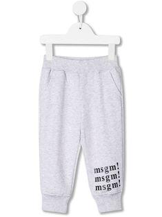 Msgm Babies' Logo Print Track Pants In Green Msgm Kids, Kids Logo, Cotton Logo, Kids Fashion, Fashion Design, Baby Design, Track, Women Wear, Babies