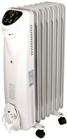 NewAirAH-450 Electric Oil Filled Radiator Space Heater - Heats 225 Sq. Ft. $94.95 (30% OFF) + Free Shipping