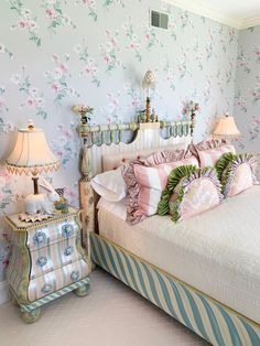 Sharing my visit to the MacKenzie-Childs headquarters, my personal nostalgia with the brand and what a visit to their whimsical farmhouse looks like! Kids Bedroom, Bedroom Decor, Shabby Bedroom, Pretty Bedroom, Master Bedroom, Whimsical Bedroom, Mackenzie Childs Inspired, Mckenzie And Childs, Interior Decorating
