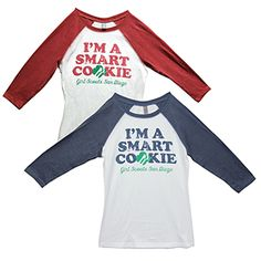 GSSD Smart Cookie 3/4 Sleeve Top
