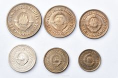 Series uncirculated coins of former Yugoslavia Uncirculated Coins, Rare Coins