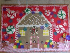 December gingerbread house