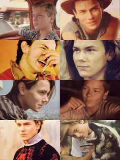 River Phoenix smiling . he had such a beautiful smile