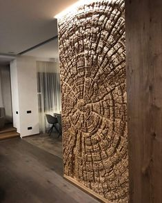 Creativ-Style With RockCreate you can create artificial rocks and other natural objects (trees, tree trunks, tree disks …), which not only Wooden Wall Decor, Wooden Walls, Interior Walls, Interior Design Living Room, Interior Painting, Interior Colors, Interior Livingroom, Interior Modern, Cheap Home Decor