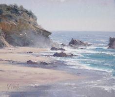 """MATT SMITH, """"Sea Mist"""" (oil, 10x12)"""