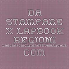 da stampare x lapbook regioni laboratoriointerattivomanuale.com