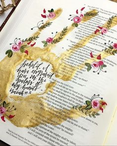 Painting quotes bible art journaling 19 Ideas for 2019 Bible Study Journal, Scripture Study, Bible Art, Art Journaling, Scripture Doodle, Scripture Journal, Bible Drawing, Bible Doodling, Bibel Journal