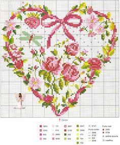 Lavores da Ana Paula: Corações