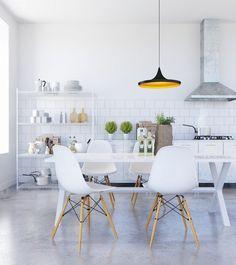 50 Mẫu bàn ăn đẹp với thiết kế nội thất mang phong cách Scandinavian