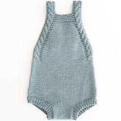 Babydrakt med fletter