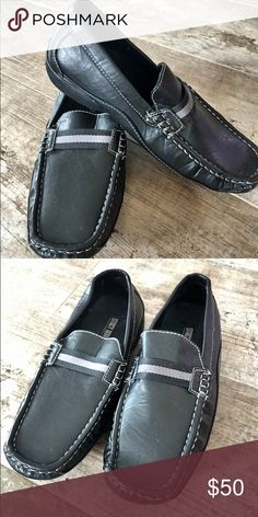 Stacy Adams Black Leather Loafers Stacey Adams Size 5 1/2 M Worn Once! Stacy Adams Shoes Dress Shoes