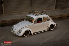 Jimmy Eriksson's '65 Beetle. #Rvinyl loves some #Slammmed Rides at www.Rvinyl.com