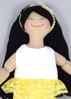 Asian Girl Doll  Toy Doll  Dress Up Doll by JoellesDolls on Etsy
