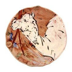 Camel Snack Plate by Mel Griffin. Available at ClayAkar. Artist, Ceramic Artists, Ceramics, Clay
