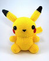 Ravelry: Chubby Pikachu pattern by Justine Dalipe