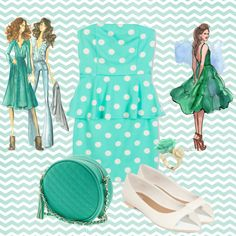 """""""Mint is my new love"""" by nino309 ❤ liked on Polyvore"""